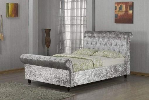 Pandora Sleigh Bed Mi Furniture